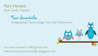 Your Smarticles: Putting some Aurasma-tazz into the Classroom! | Applied Instructional Technology | Scoop.it
