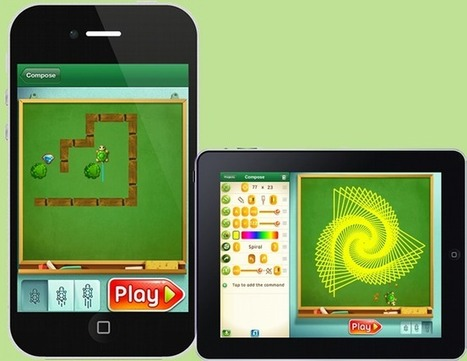 Move the Turtle - Programming for Kids on the iPhone and iPad | Computer Science Education | Scoop.it