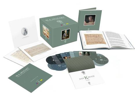 240 Hours, 22 Pounds: A Mammoth Mozart Box Set Aims At More Than 'Complete' | Mozart 3.0 | Scoop.it