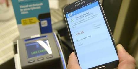 Le paiement par smartphone possible dès cet été chez la plupart des commerçants belges | InfoPME | Scoop.it