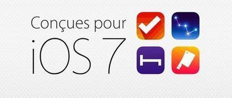Découvrez les Apps conçues pour iOS 7... | Geeks | Scoop.it