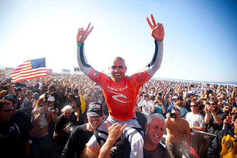 QUIKSILVER'S KELLY SLATER WINS 11TH ASP WORLD TITLE TODAY AT THE RIP CURL PRO SEARCH SAN FRANCISCO | Surfing Magazine | Scoop.it