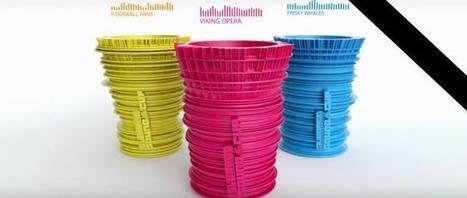 Des gobelets imprimés en 3D grâce au son | Vous avez dit Innovation ? | Scoop.it