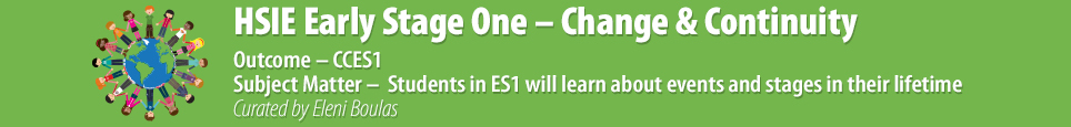 HSIE Early Stage One - Change & Continuity