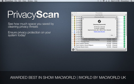 PrivacyScan 1.2 Available for Mac OS Users | MacScan & PrivacyScan News | Scoop.it