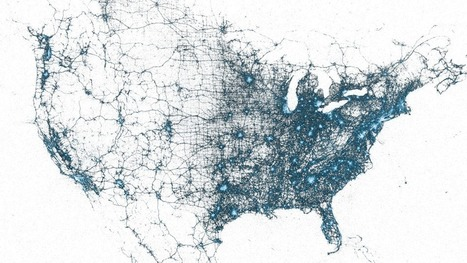 Billions of Geotagged Tweets Visualized in Twitter's Amazing Maps | visualizing social media | Scoop.it