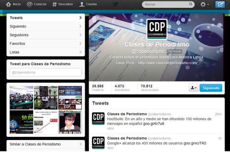 7 ideas para aprovechar el nuevo diseño de Twitter | Periodismo ciudadano | Scoop.it