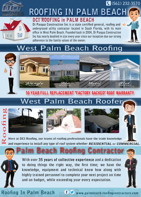 Palm Beach Roofing Contractor | Roofing In Palm Beach | Scoop.it