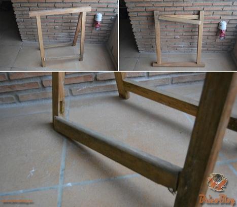 Encolar las patas de los muebles rápida y limpiamente - BricoBlog | Bricolaje | Scoop.it