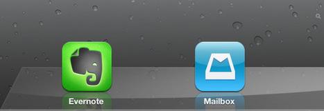 Mailbox i Evernote a l'iPad s'actualitzen per millorar la nostra productivitat | iPad classroom | Scoop.it