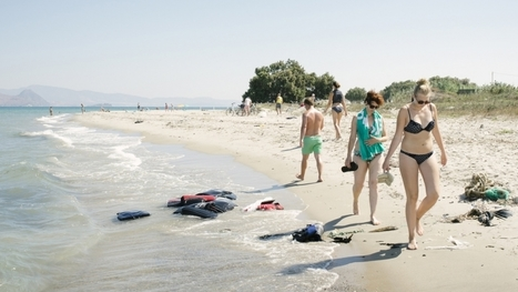 Bikinis and lifevests: Indelible images from an island shared by tourists, refugees | Sandy Beach Ecology & Management | Scoop.it