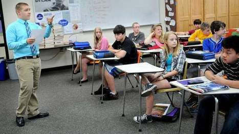 First-year teachers do as much learning as teaching | RE Teaching | Scoop.it