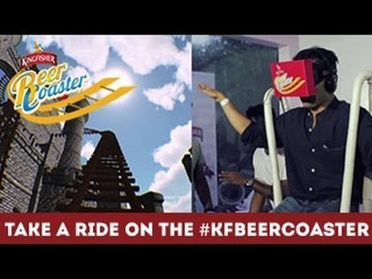 Take A Ride On The #KFBeerCoaster - YouTube | Booze | Scoop.it