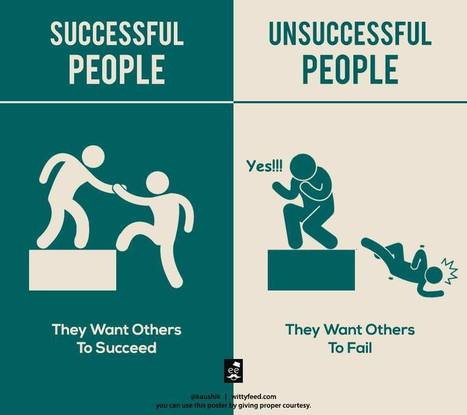 7 Key Differences Between Successful People And Unsuccessful People | Productivity Tools | Scoop.it