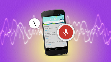 Everything You Didn't Know You Could Do with Google's Voice Commands | Life @ Work | Scoop.it