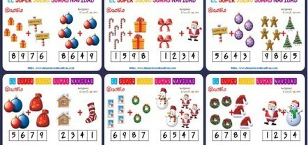 Fichas: ejercicios de sumas con fichas de dominó, soluciones incluidas - Imagenes Educativas | Coses del Joan | Scoop.it