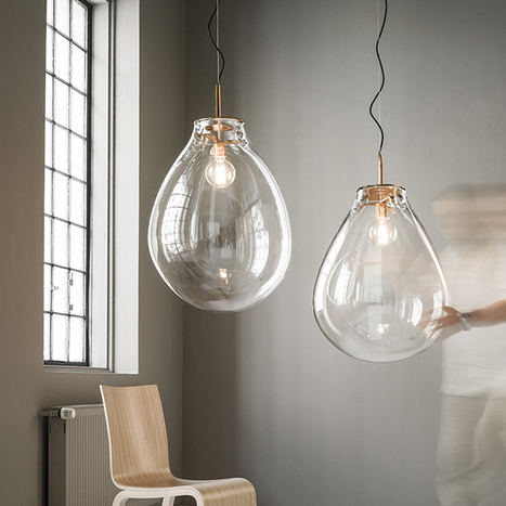 Gurasu Crystal introduces new collections of contemporary crystal lighting by Bomma | Coloured Crystal | Scoop.it