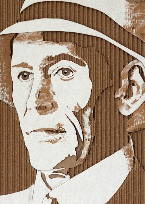 Cardboard Portraits | Art, Design & Technology | Scoop.it