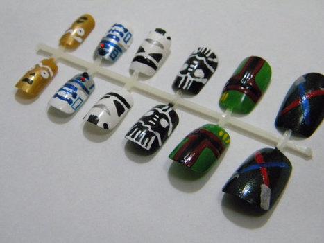 Star Wars Press On Nails | GeekGasm | Scoop.it