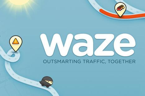 Waze, le GPS gratuit sur iPhone change d'interface... | netnavig | Scoop.it