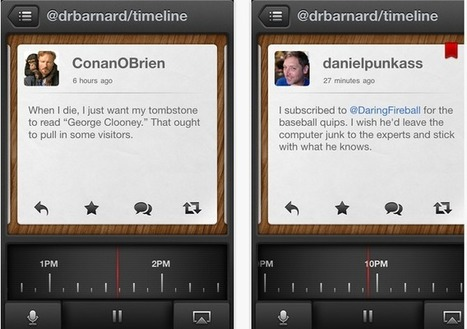 Tweet Speaker Reads your Tweets Loud ( iPhone App ) | Articles Worth Your Time | Scoop.it