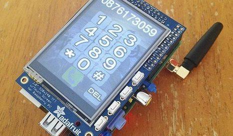 Here's How You Can Make Your Own Smartphone Using A Raspberry Pi Board | Arduino, Netduino, Rasperry Pi! | Scoop.it