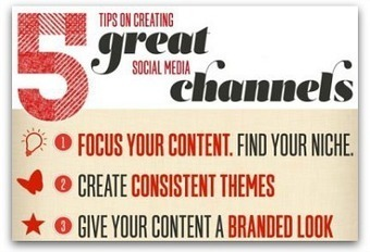 Infographic: 5 tips to create a strong social media presence | Mi miscellanea | Scoop.it