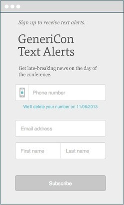 MailChimp Gather - text alerts to attendees of your events | iGeneration - 21st Century Education | Scoop.it