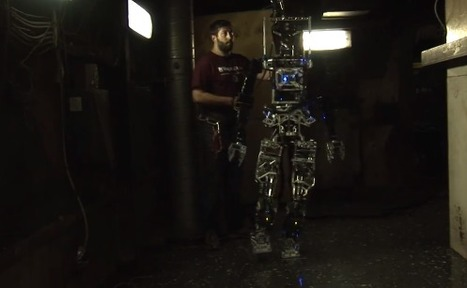 En vidéo : Saffir, le robot-pompier de l'US Navy | Robotics | STEM | 21st Century Innovative Technologies and Developments as also discoveries, curiosity ( insolite)... | Scoop.it