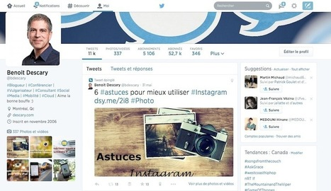 Twitter : 4 nouvelles fonctionnalités que vous ne connaissez peut-être pasDescary.com | Tout savoir sur Twitter | Scoop.it