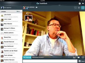 Hookflash. Appels vidéo pour Linkedin sur iPad. | Les outils du Web 2.0 | Scoop.it