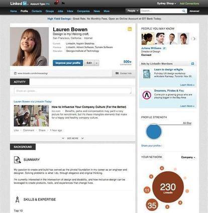 LinkedIn renueva el perfil con información en formato infografía | Formacion y Trucos o consejos | Scoop.it