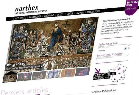Narthex.fr fait peau neuve | L'actu culturelle | Scoop.it