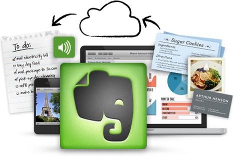 Aplicaciones para aprovechar al máximo Evernote | CoAprendizagens 21 | Scoop.it