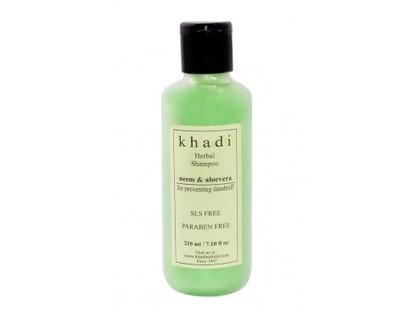 Buy Khadi Neem & Aloevera Shampoo(SLS & Parabens Free) Online | Khadi Products | Scoop.it