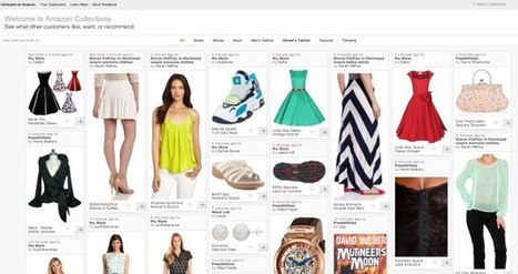 "Amazon Experiments With Its Own Take On Pinterest Called ""Amazon Collections"" 