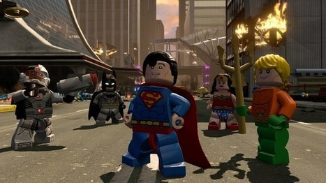 Superman And Aquaman Join The LEGO Dimensions Justice League In Wave 4 Fun Packs | Comic Book Trends | Scoop.it