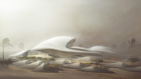 Zaha Hadid designs sand dune-inspired building for Bee'ah | Form, Structure & Complex Geometry Innovations | Scoop.it