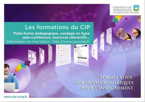Centre d'innovation pédagogique - Université de Versailles Saint-Quentin-en-Yvelines - Nos Formations | Formations au numérique | Scoop.it