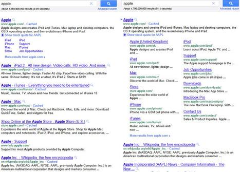 Google's Expanded Sitelinks | Google Sphere | Scoop.it