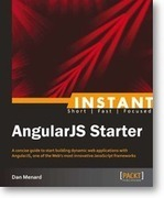 "Initial impressions from the eBook ""Instant AngularJS Starter"" 
