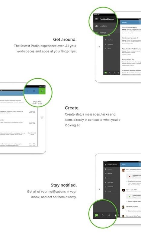 Introducing Podio for iPad: The Most Complete Mobile Work Experience Ever | Podio Blog | IPAD, un nuevo concepto socio-educativo! | Scoop.it