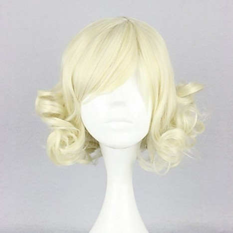 Blonde Curly Cosplay Wig|Bob Cosplay Wig |Sweet Lolita Cosplay Wig|Blonde Curly Bob Sweet Lolita Cosplay Wig | Cosplay Costumes | Lolita & Uniform Cosplay | Zentai Suits Cosplay | Scoop.it