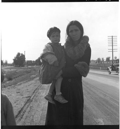 "DOROTHEA LANGE: ""In the Face of All Odds: Dorothea Lange's Psychological Studies of the Depression's Disenfranchised"" (1986) - ASX 