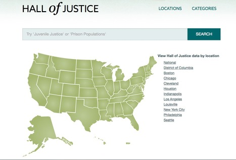 Criminal justice data | Journalisme graphique | Scoop.it