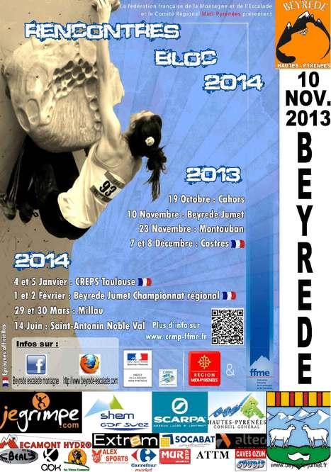 Open de bloc de Beyrède le 10 novembre | Vallée d'Aure - Pyrénées | Scoop.it