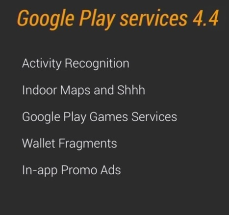 Google Play Services 4.4- An icing on the cake | Software Development | Scoop.it