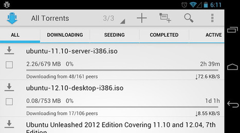 aTorrent Is One Of The Best, Free Torrent Downloaders For Android | hogir | Scoop.it