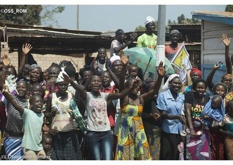 Pápež mladým Stredoafričanom: Utiecť pred výzvami nie je riešením | Správy Výveska | Scoop.it