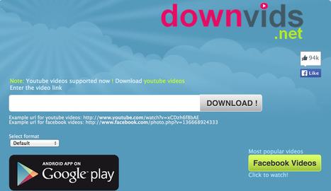 [Facebook] Télécharger une vidéo - Facebookvideodown.com | [Franck Confino] Digital tools | Scoop.it